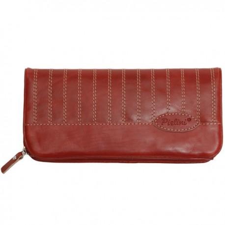 Cartera de Piel Mujer Pielini Mod 3059 Rojo
