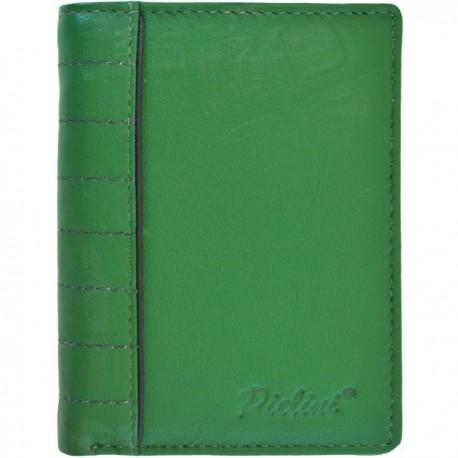 Cartera de Piel Hombre Pielini Mod 3064 Verde